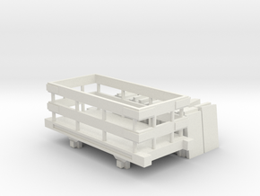 Bandai OO9 Scale Slate Truck and Load in White Natural Versatile Plastic