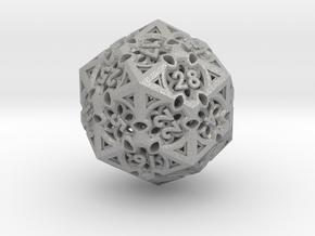 Gothic Rosette d30 in Aluminum