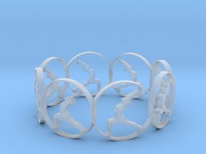 yoga bracelet in Smooth Fine Detail Plastic