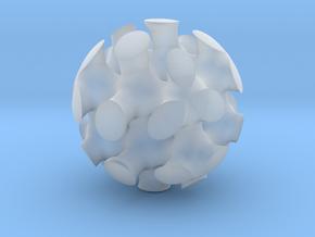Bone Sphere in Smooth Fine Detail Plastic
