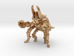Pacific Rim Onibaba Kaiju Monster Miniature in Natural Bronze