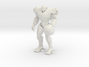 Pacific Rim Titan Redeemer Jaeger Miniature in White Natural Versatile Plastic
