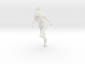 Printle S&W 003 - RabbitWoman - 1/24 - wob in White Natural Versatile Plastic