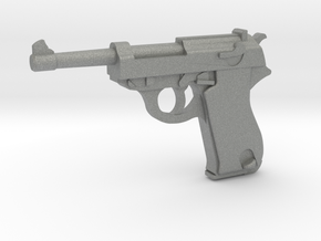 Walther P38 (1:18 scale) in Gray PA12: 1:16