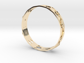 Ring , Ear Ring ,  Pendant on Neck ,  SET Number3 in 14K Yellow Gold
