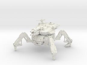 Firewalker Spider Tank Mech in White Natural Versatile Plastic
