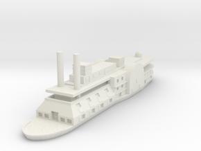 1/600 USS Black Hawk in White Natural Versatile Plastic
