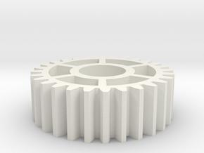OT-85 GEAR, KYOSHO TURBO OPTIMA MID in White Natural Versatile Plastic