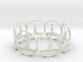 6 (4) in White Natural Versatile Plastic
