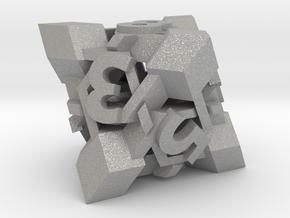 Intangle d8 in Aluminum