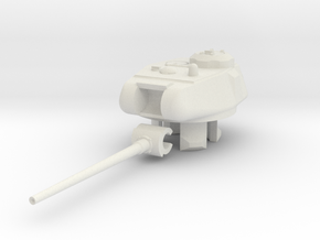 1/100 KV/IS-85 Turret in White Natural Versatile Plastic