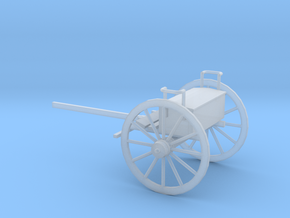 1/72 Scale Civil War Artillery Limber in Smooth Fine Detail Plastic
