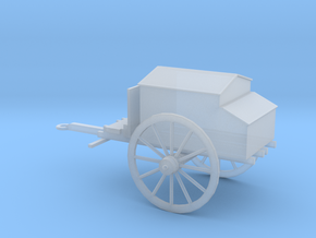1/72 Scale Civil War Artillery Forge in Smooth Fine Detail Plastic