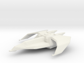 Banshee Fighter in White Natural Versatile Plastic