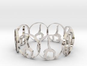 7 ring in Platinum