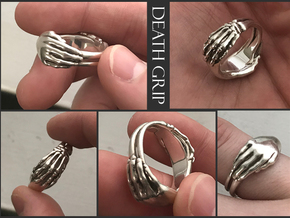 Death Grip in Polished Silver: 9 / 59