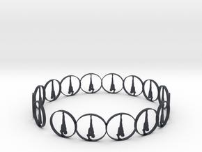 7 ring in Black PA12