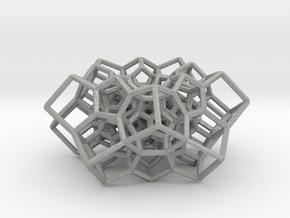 Partial 120-cell, torus-shaped in Aluminum: Medium