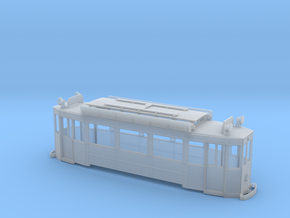 Nantes tramway (body only) - Ho 1:87 in Smooth Fine Detail Plastic