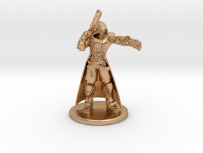 Overwatch Reaper 1/60 miniature for rpg and games in Natural Bronze
