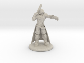 Overwatch Reaper 1/60 miniature for rpg and games in Natural Sandstone