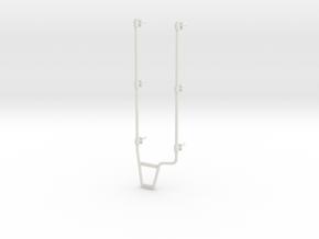 K100-ladder in White Natural Versatile Plastic