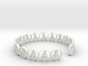 one ring 18.11 size 6 in White Natural Versatile Plastic