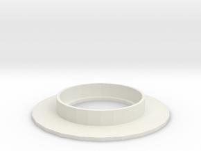 Paint Base in White Natural Versatile Plastic