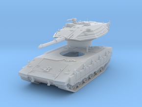 Merkava Mk 4 MTB Scale: 1:87 in Smooth Fine Detail Plastic