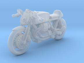 Moto Guzzi Cafe Racer 1:87 HO in Smooth Fine Detail Plastic