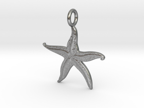 Kaps crustonian Starfish in Natural Silver