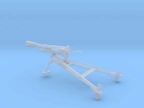 1/35 Scale 37mm M1916 Gun with Flash Suppressor in Smooth Fine Detail Plastic
