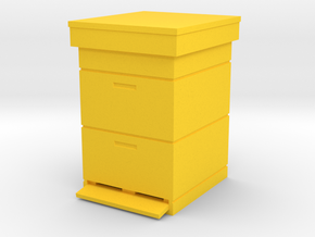 Beehive Dadant 1/13.3 in Yellow Processed Versatile Plastic