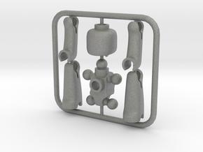 EGO miniature figure in Gray PA12