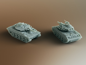 M551 Sheridan AR/AAV Scale: 1:87 in Gray Professional Plastic
