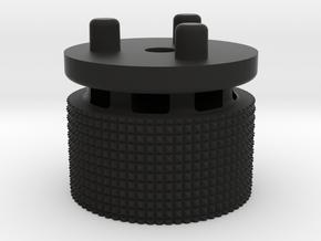 Emek/Etha 2 Bolt Cap - DUB in Black Natural Versatile Plastic