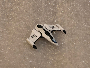 Imperial Eagle: Elite Dangerous in Smooth Fine Detail Plastic: 1:1000