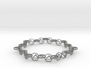 63.5 mm approximately bracelet in Gray PA12