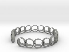 size 6 18.11 mm ring in Gray PA12