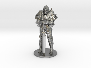 Darkwraith Dark Souls miniature fantasy games rpg in Natural Silver