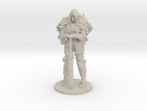 Darkwraith Dark Souls miniature fantasy games rpg in Natural Sandstone
