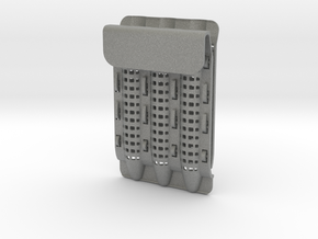 Pocket Protector - Customizable in Gray PA12