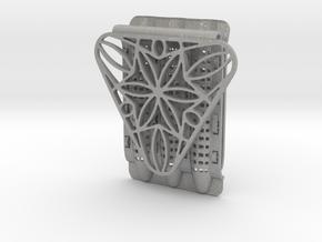 Rosette Pocket Protector in Aluminum