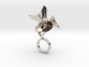 Maths - Bjou Designs in Rhodium Plated Brass