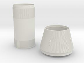 S-II & S-IVB 1:48 Larry in White Natural Versatile Plastic