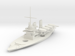 1/700 Enforcer-Class River Dreadnought in White Natural Versatile Plastic