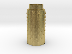 Scalloped in Natural Brass