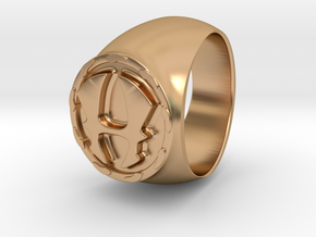 Hercules RING Size 10 in Polished Bronze