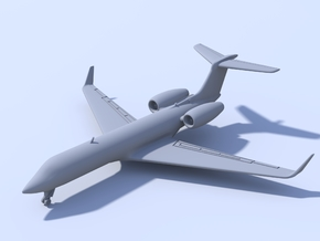 1:200 - Gulfstream G550 (XL) in Frosted Ultra Detail