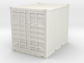 10 ft container - 1:50 in White Natural Versatile Plastic